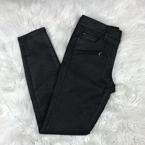 Ann Taylor super skinny coated modern fit jeans